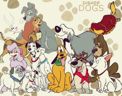 Имена собак из мультиков и фильмов